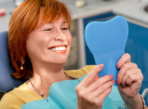 Have an annual checkup to ensure the best fit for your dentures.